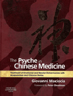 The Psyche in Chinese Medicine Book